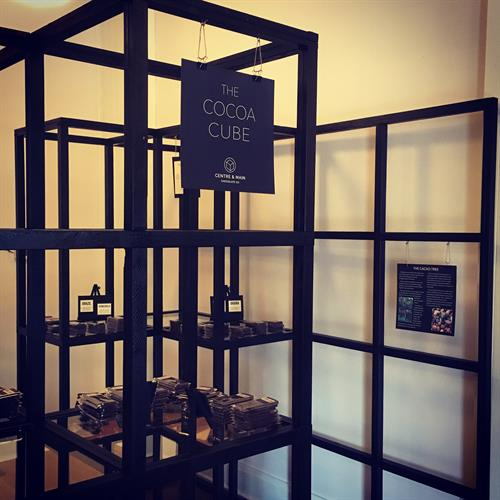 Visit our Cocoa Cube to explore the wonders of single origin chocolate!