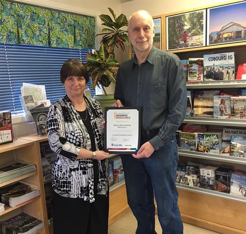 Customer Service Award Nomination