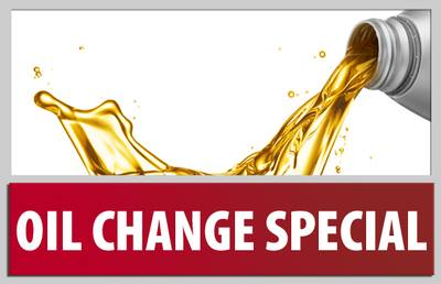 Oil Changes $29.95 - Synthetic Blend 5 qts with spin on filter - Everyday Price