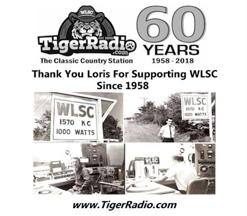 WLSC signed on in 1958.