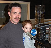 Radio is a family affair.  This photo was taken in 2007.