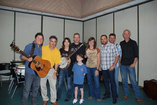 Hangin' out with one of the best bluegrass bands, The Grascals