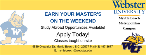 Earn your Master's on the weekends