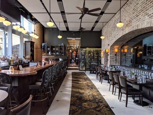 Interior renovation - bar