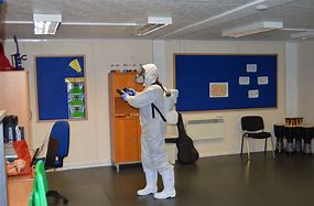 Cleaning School classroom