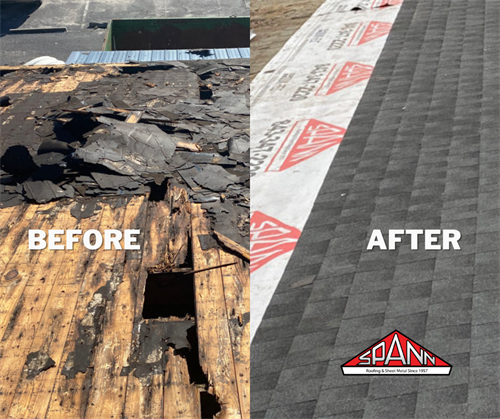 Before & After Roof Repair