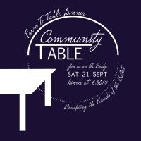 Community Table - Farm to Table Dinner