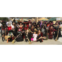 Trick or Treat and the Dancing Witches at the Windmill!