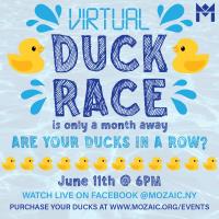 Mozaic's 6th Annual Duck Race!
