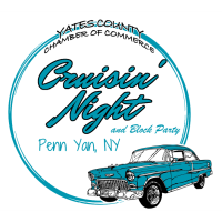 Cruisin' Night  in downtown Penn Yan