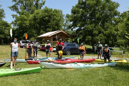kayaking program