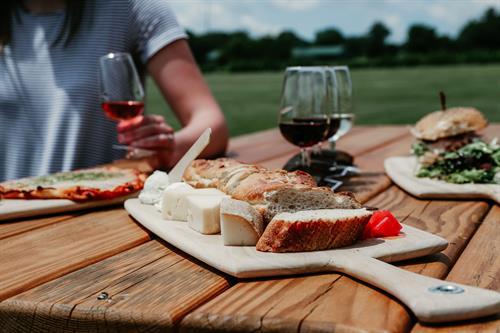 Fox Run Cafe fare and wine