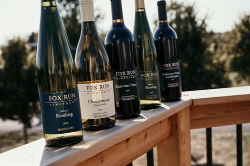 Fox Run wines