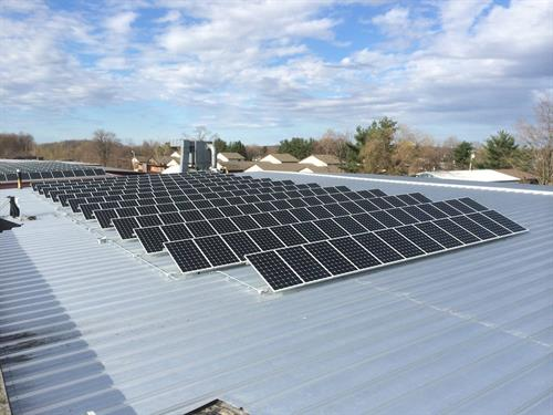 Commercial Roof Mount Application