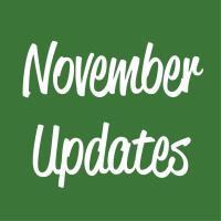 November Updates
