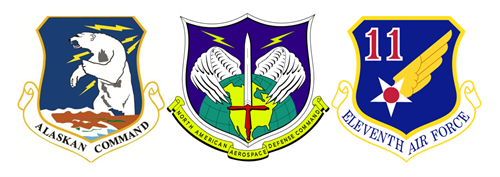 Alaskan Command, Alaska Norad Region, Eleventh Air Force Command Chief