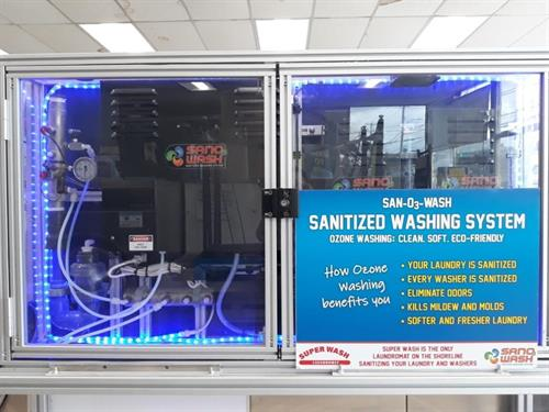 Our new Ozone Sanitizer-Kills 99.9