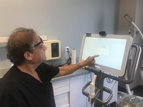 Dr. Friedler with Itero technology