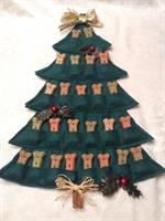 Puppy Treat Tree Advent Calendar