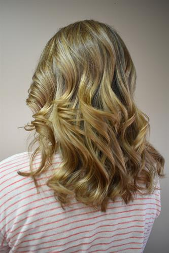 A natural highlight to blend in unwanted grays to make the transition more seem-less.