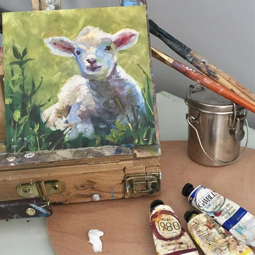 Daily Painting (or almost) weekly class and weekend workshop with Linda Marino