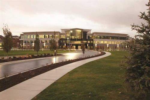 Corporate headquarters in Utah.