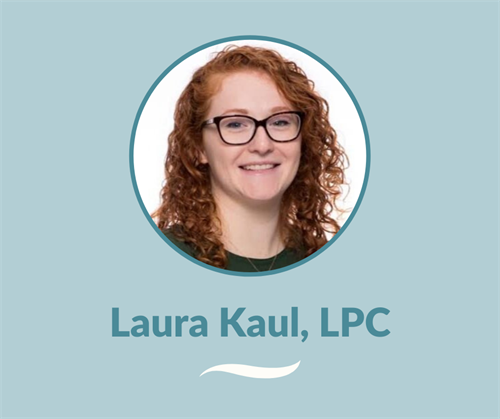 Laura Kaul, LPC, is dedicated to providing a place to be heard and is also EMDR trained. She aims to help those who are seeking change, hope, healing, and overall wellness.