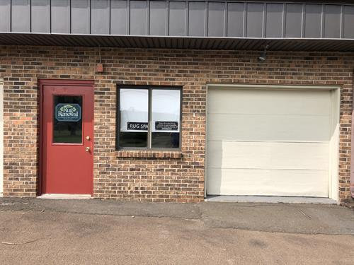 We recently outgrew out little building in Madison and opened up a larger rug cleaning plant in Branford.