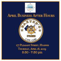 Business After Hours - Special April Thursday Night Edition