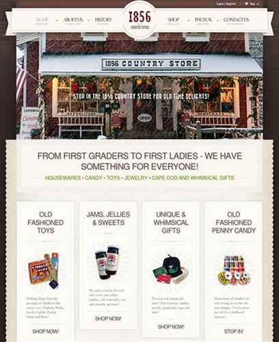 Ecommerce Website - 1856 Country Store