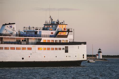 Traditional ferry - M/V Eagle