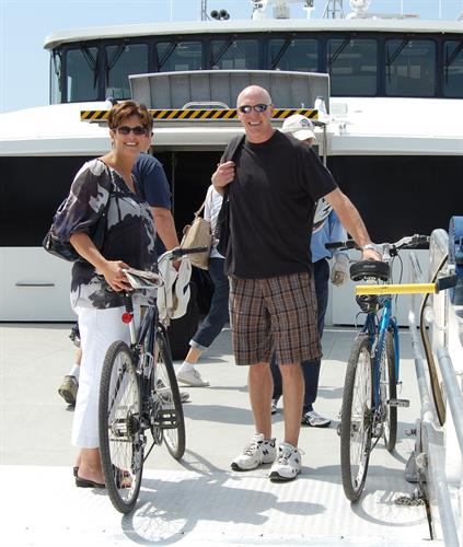 Bikes are an easy way to get around on Nantucket