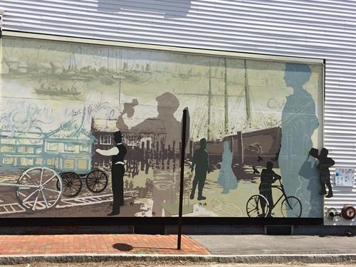 Sea Captains Mural, Hyannis