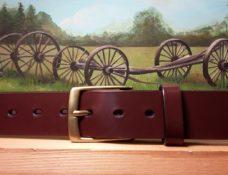 English Bridle Leather Belt
