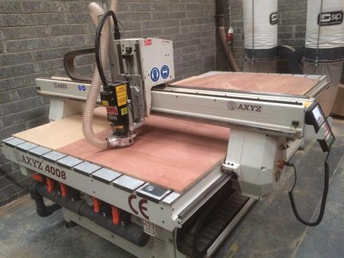 Latest CNC machine - This is used to manufacture a range of products we develop