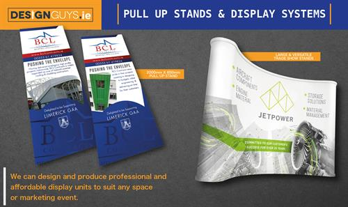 Branded Pull up / Display Unit