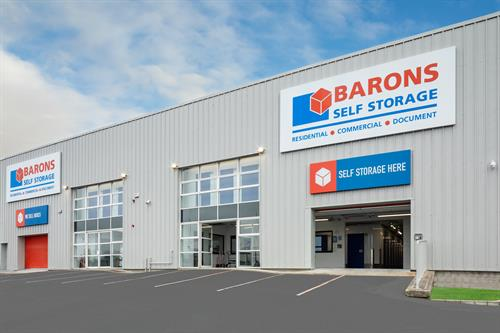 Barons Self Storage Facility Eastway Business Park