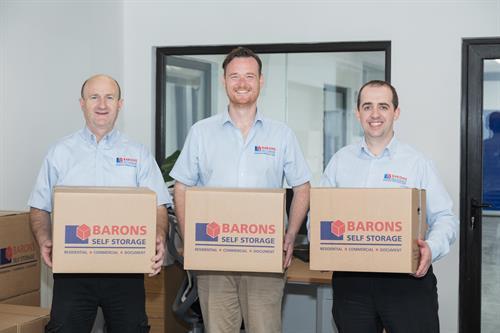 Baron Self Storage Team Limerick