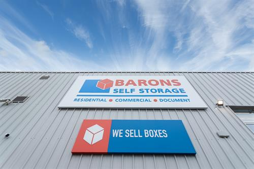 Packaging products for sale - Barons Self Storage