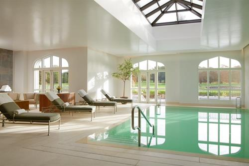 The Relaxation pool at Adare Manor's La Mer Spa