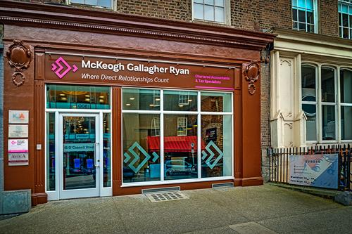 Our offices at 45 O'Connell Street, Limerick