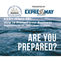 Resiliency 101 Workshop Series: How to Combat Challenges in Times of Disaster, presented by a USF Muma College of Business