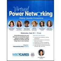 Virtual Power Networking: Making Valuable Connections, presented by the Centre for Women