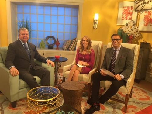 Dr. Holcomb on WFLA's Daytime Show