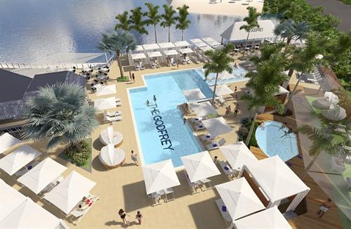 Pool & Cabanas Venue- slated to open April 2018