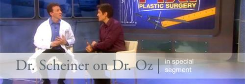 Dr.Scheiner was recently featured on the popular Dr. Oz Show, where he demonstrated how his proprietary RESET™ treatment can radically transform patients' appearances and lives.