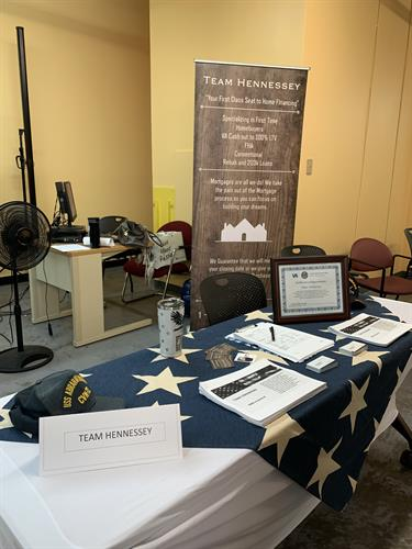 Veteran transitioning event
