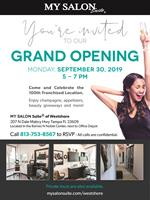 MY SALON Suite celebrates its 100th location opening with a special Grand Opening