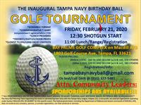 Charity Tampa Navy Birthday Ball Golf Tournament