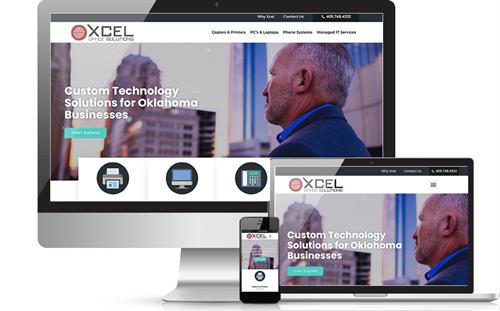 XCel Office Solutions - Website Redesign and SEO